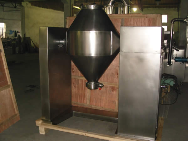 Double Cone Medicine Mixer Granule Mixer China Mixing